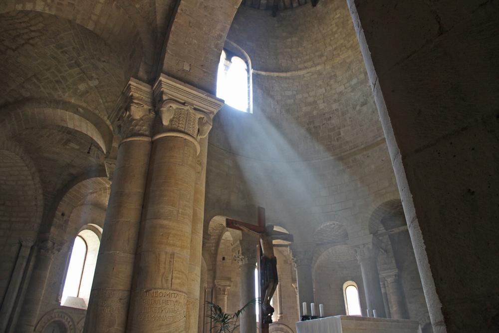 San Antimo, Interior