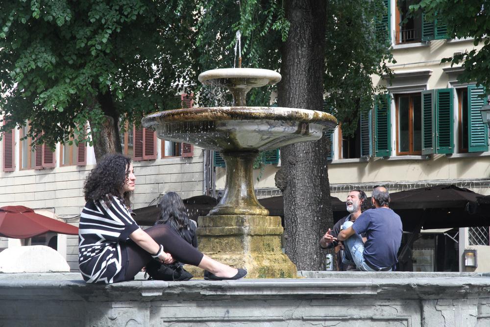 Fountain, Piazza San Spirito, Florence