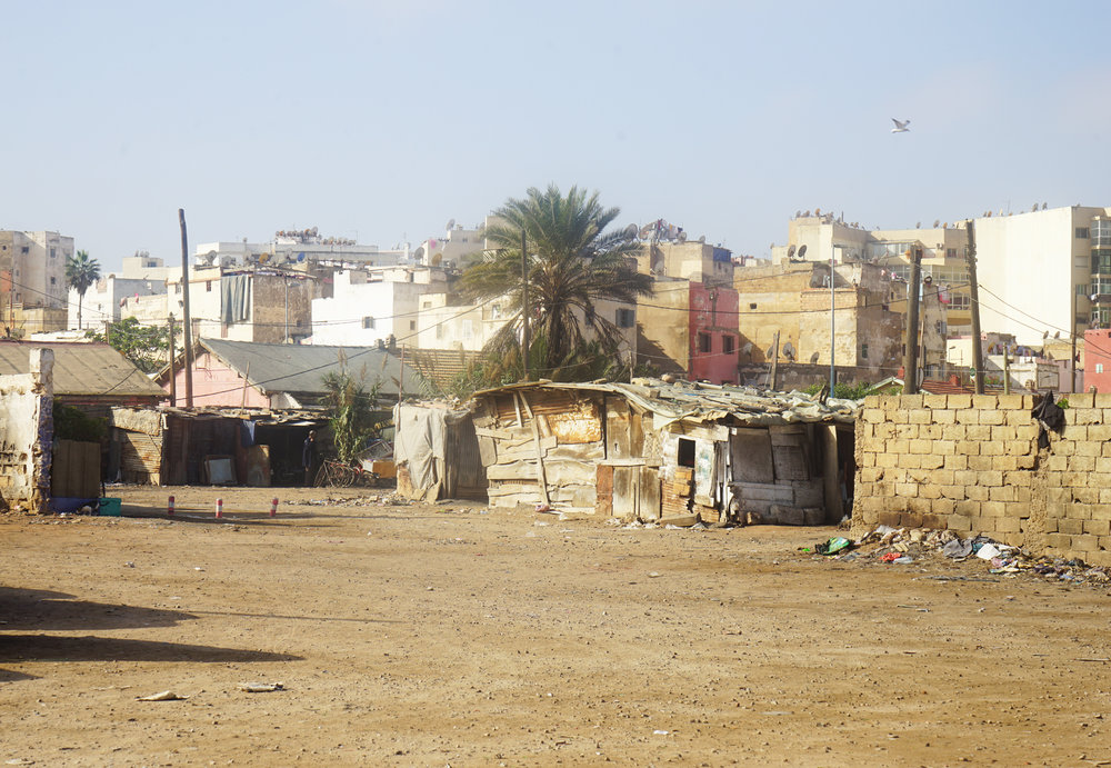 Shanty town, Casablanca, Morocco