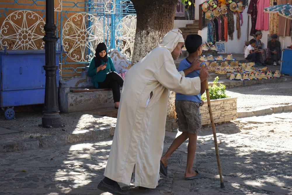 Village Square, Morocco