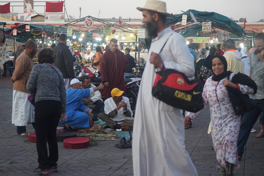 Marrakech Square, Morocco