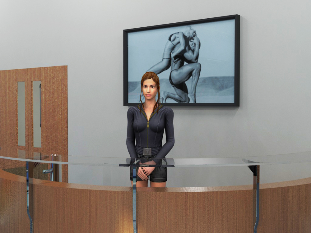 Gym receptionist
