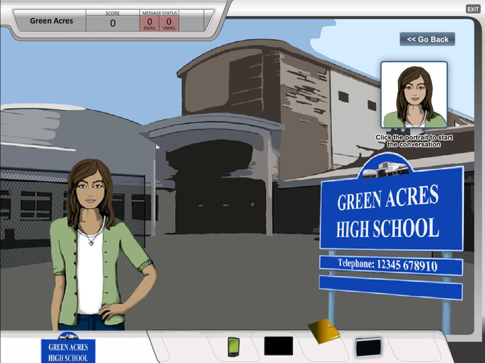 CAVA Opening Screenshot