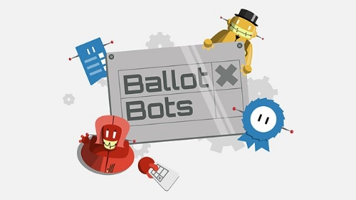 Ballot Bots, BBC, Politics, Educational game.