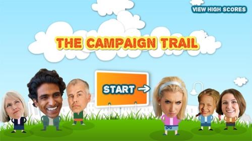 Campaign Trail Menu Screen.