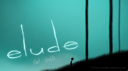 Elude, Menu Screen