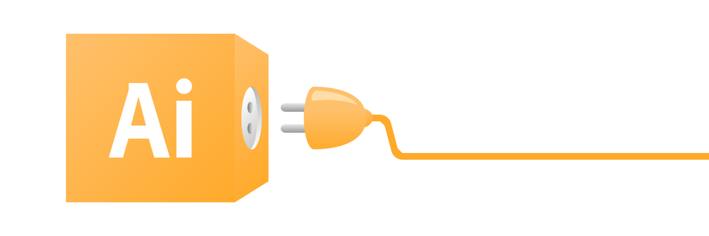 Illustrator Logo, Plug