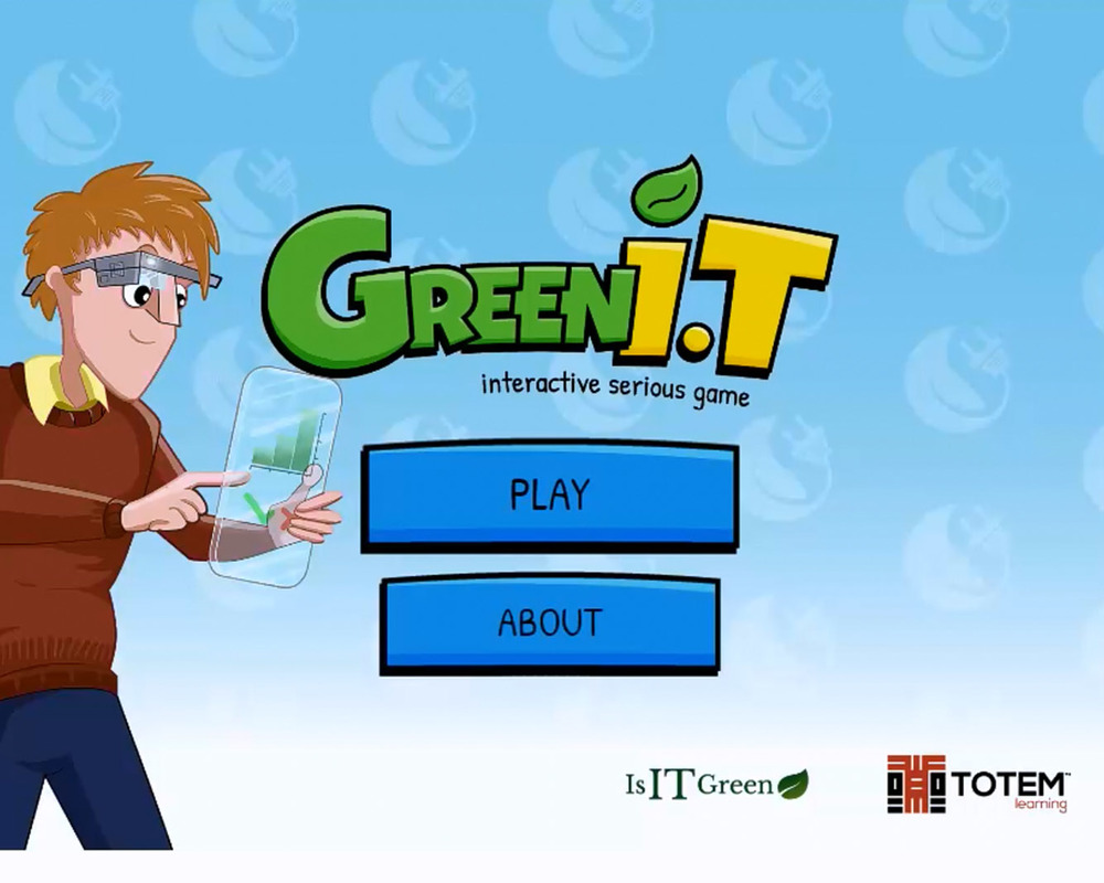 Green IT Loading Screen