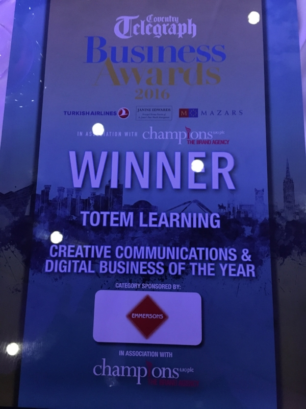 CTBA Creative Communications & Digital Business of the Year
