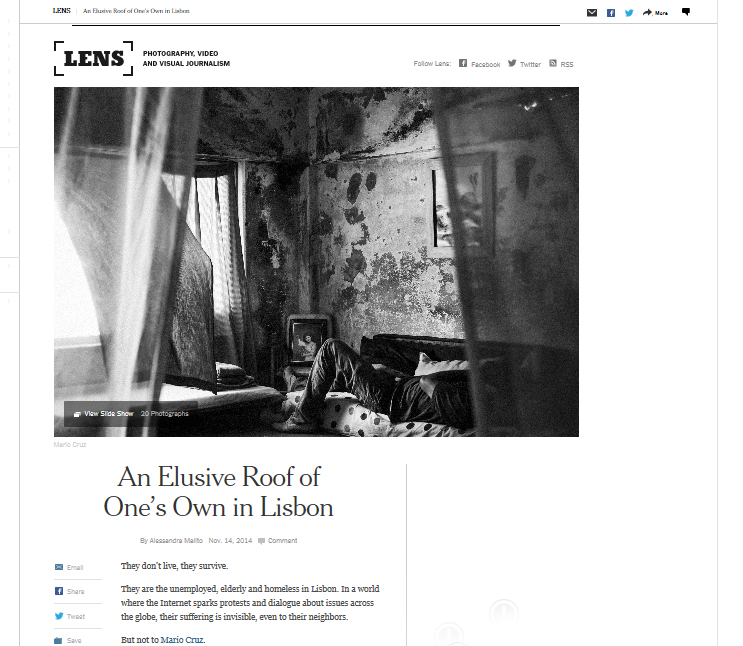 New York Times - Lens Blog, 2014