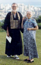 Robert Aitken Roshi and Anne Aitken