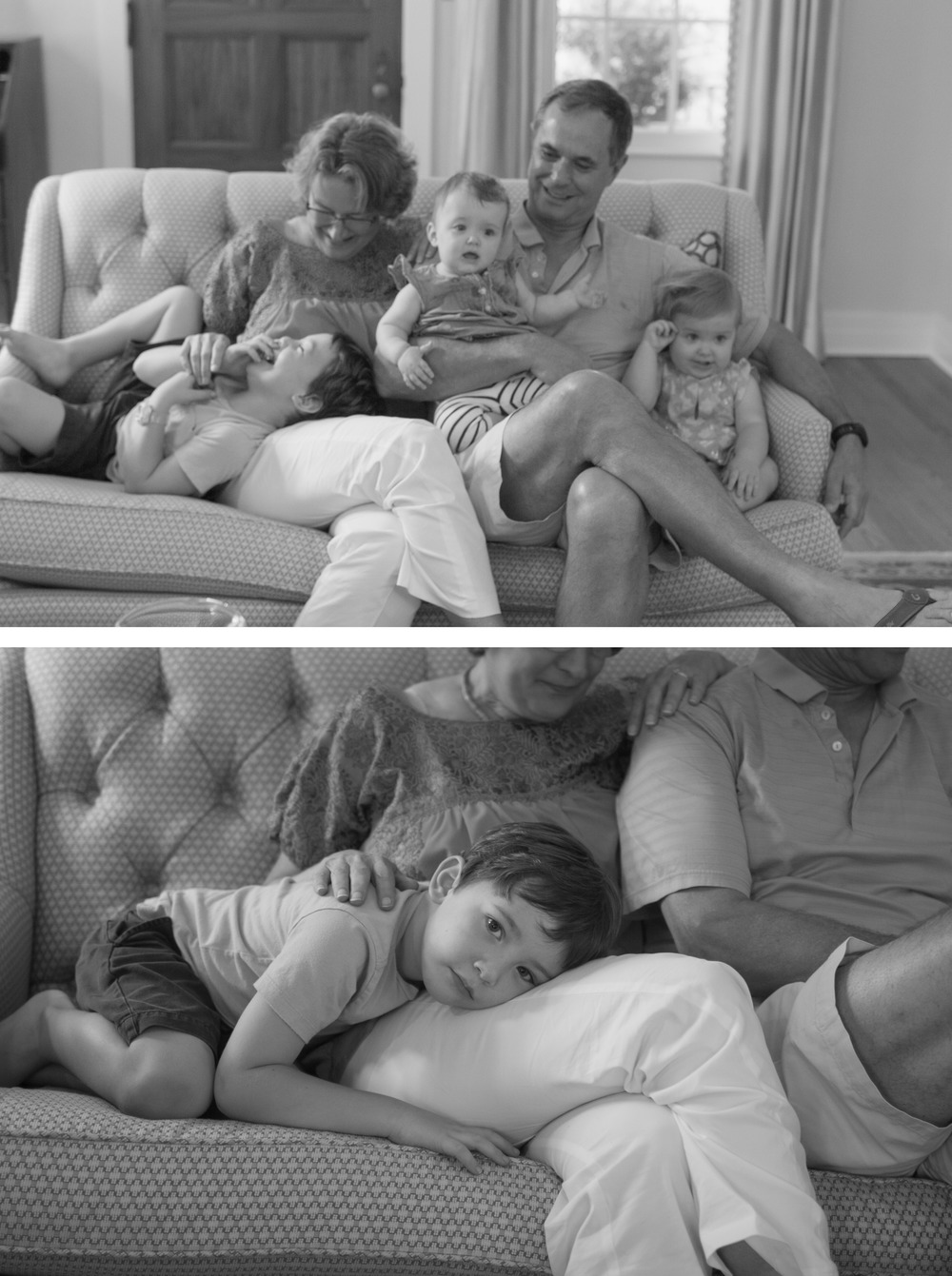 Pile on the grandparents!