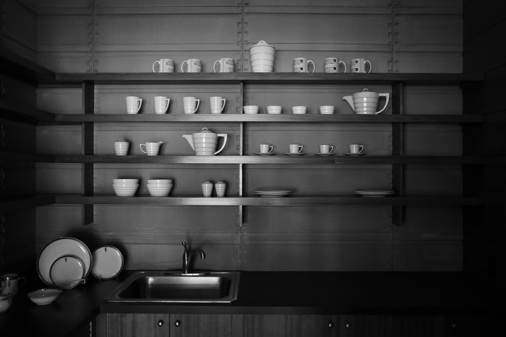 Usonian kitchen