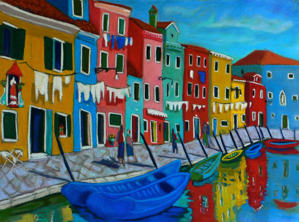 Burano Wash Day, pastel 22x30.jpg