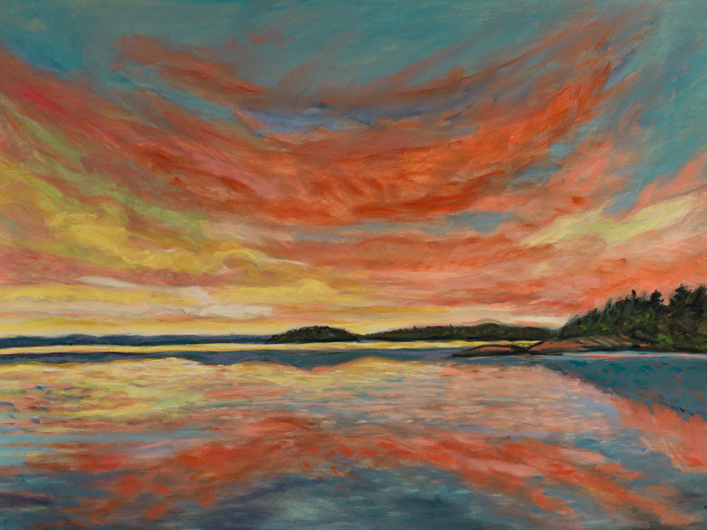 Images at Nightfall #8 pastel 22x30.jpg