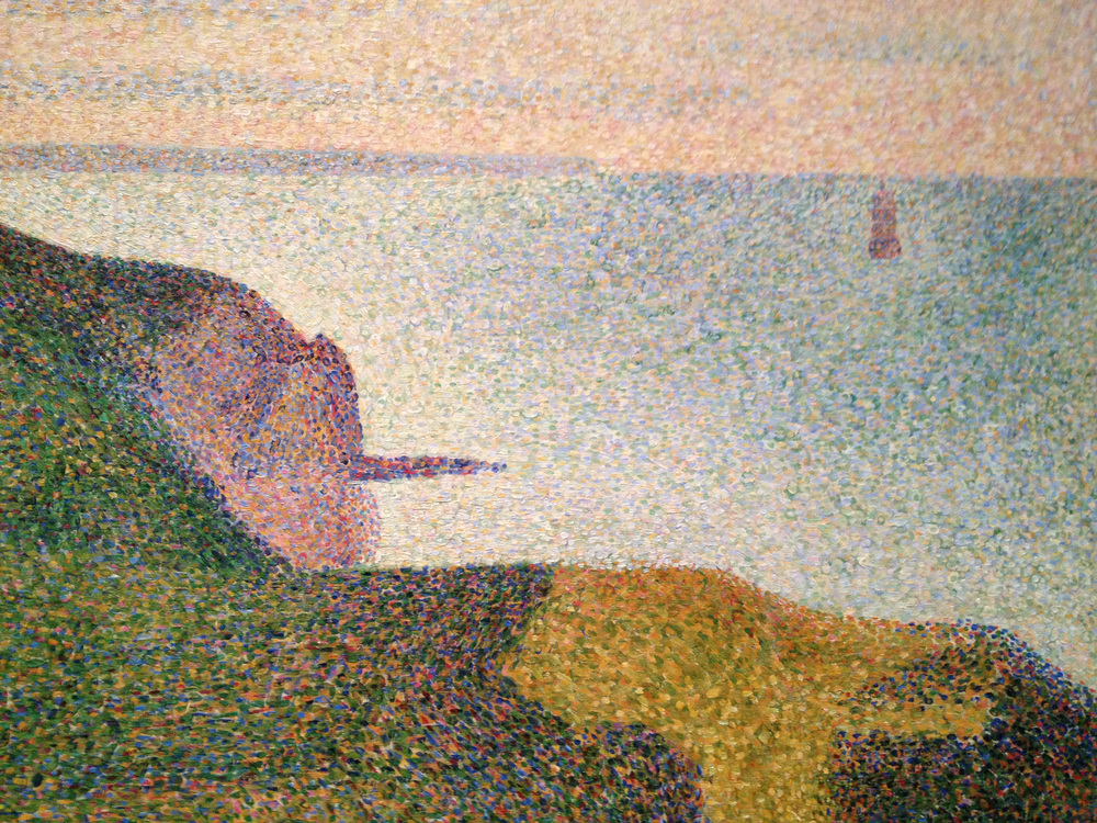 I think Seurat and I would've gotten along. He seems to love the Shore.