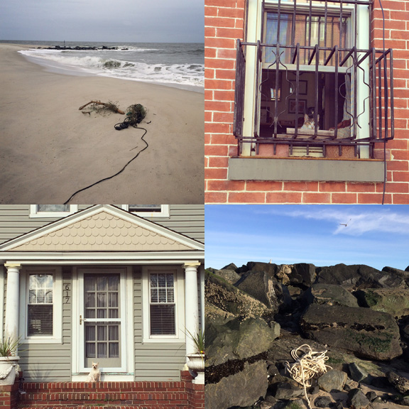 1) Cape May, New Jersey. 2) Good bye 15th Street, Brooklyn. 3) Hello 3rd Ave, Asbury Park, NJ. 4) Sunset Beach Days.