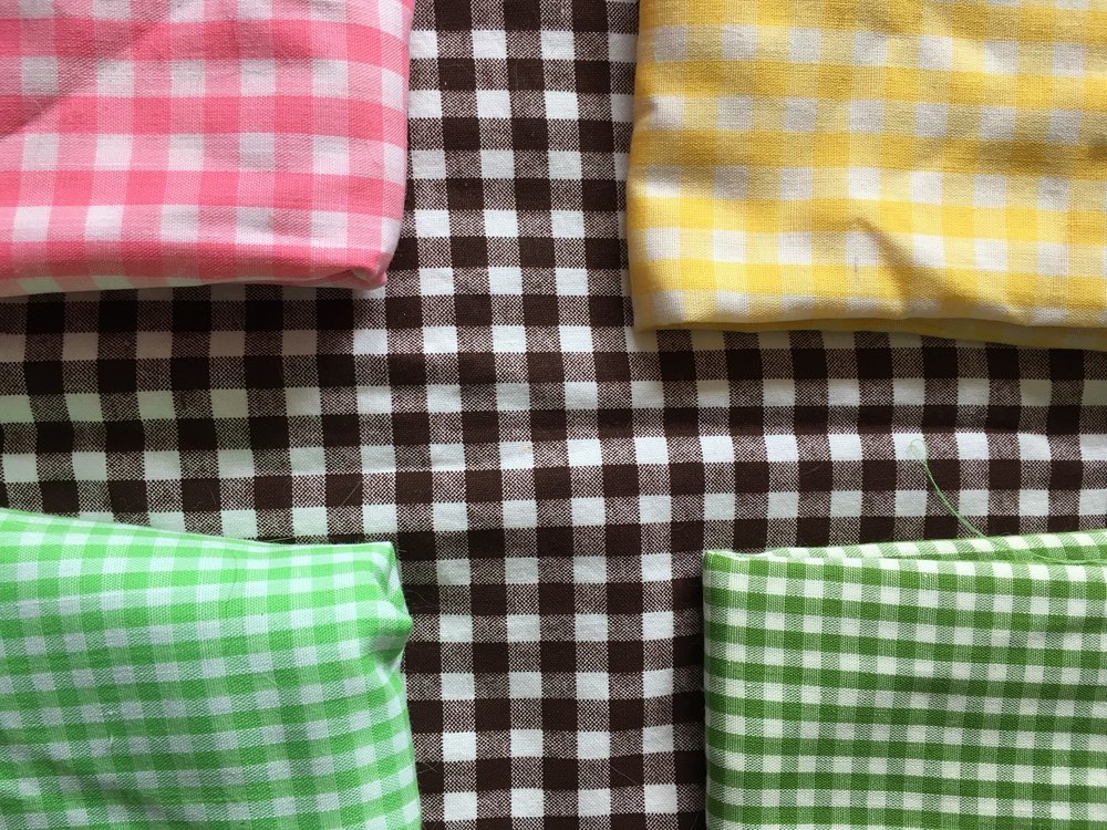 Day 20: Fabric I Hoard - Vintage Gingham