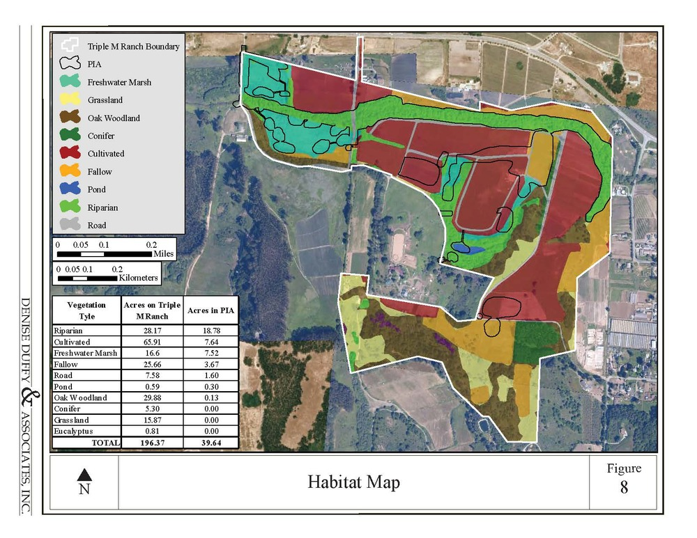 Triple M Ranch Habitat Classification Map