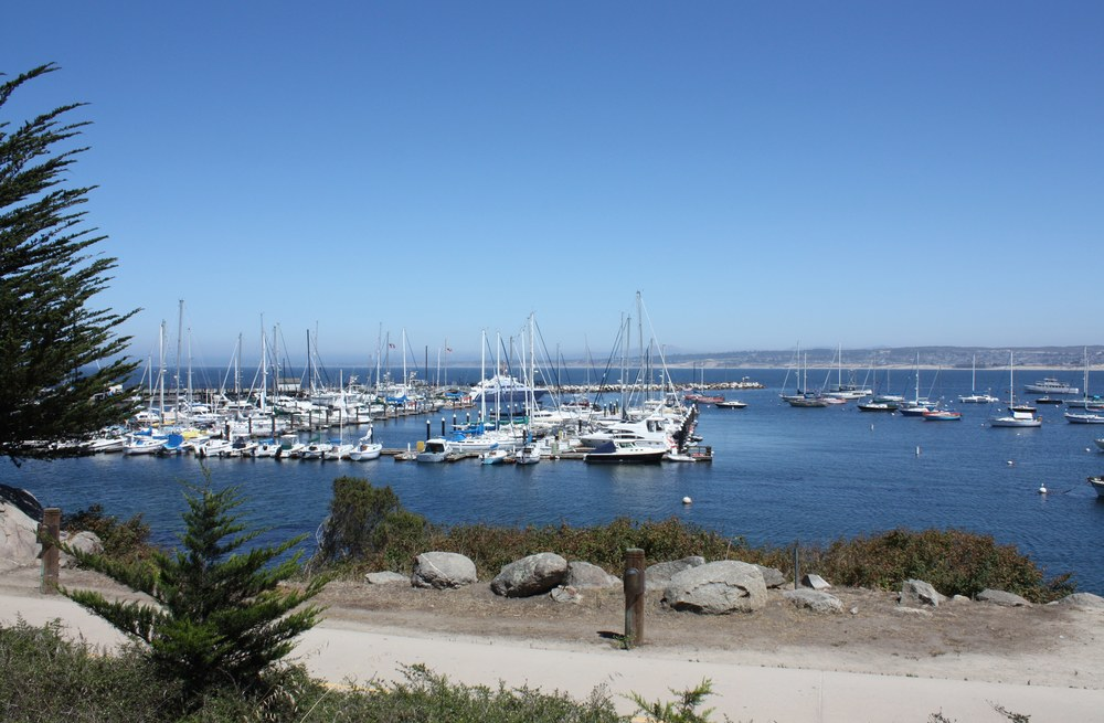 Visual Simulation of Monterey Bay Harbor for Monterey Bay Boatworks Biological Assessment (Click Photo for Project Description and List of Services Provided)