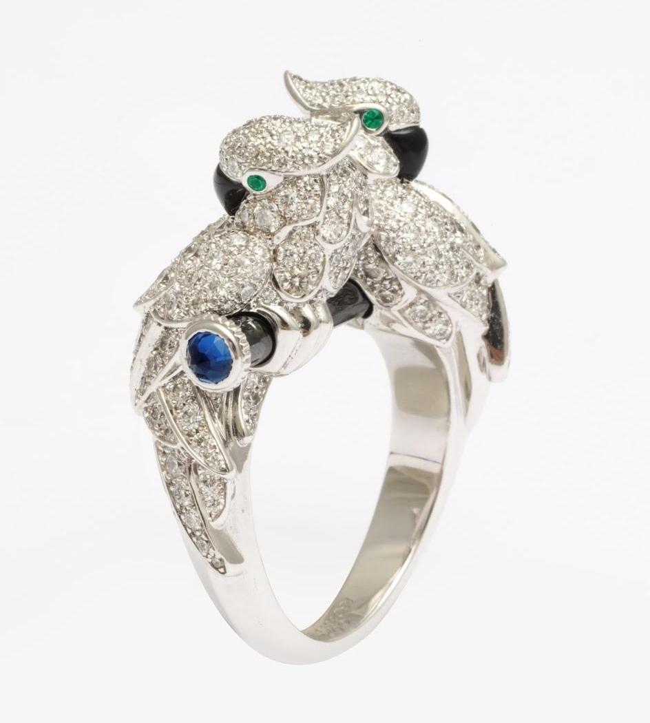 'Les Oiseaux Liberes' Cartier Ring