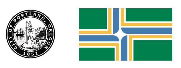 The City of Portland's Crest utilizes a round shape that has also been used as the basis for almost all of the Timbers crest. I started with this shape taking the bold outlines as the beginning of my redesign. I then took the yellow and green from the flag of Portland for the logo's color palette. This formed the basis of the new design.