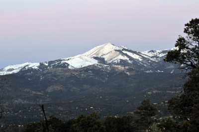 Sunrise over Sierra Blanca