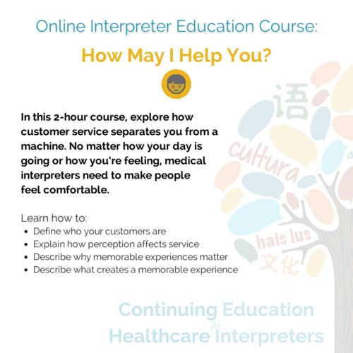 Live Online Course: How May I Help You? — Connecting Cultures ...
