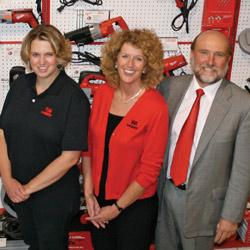 Left - Right:Whitney Vincent, Susan Fellerhoff, Randy Fellerhoff
