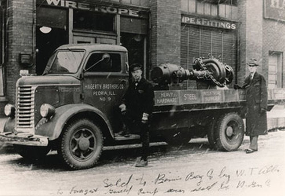 Hagerty's Diamond T truck circa 1933