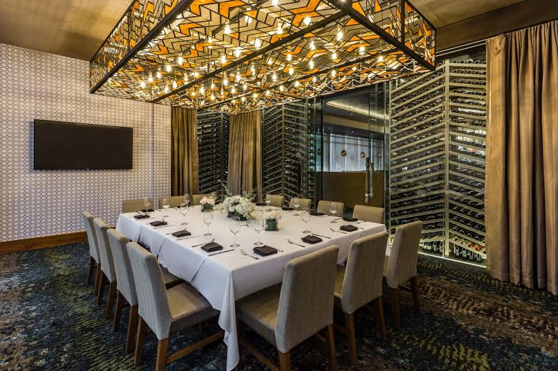 Del frisco 39 s double eagle steak house international drive for Best private dining rooms orlando