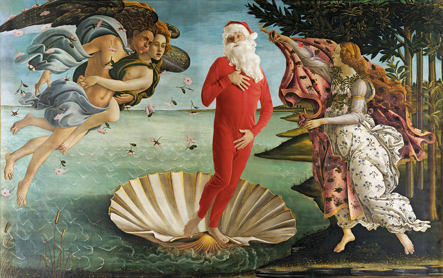 Inspired by: Sandro Botticelli  The Birth of Venus  - 1486 Uffizi, Florence