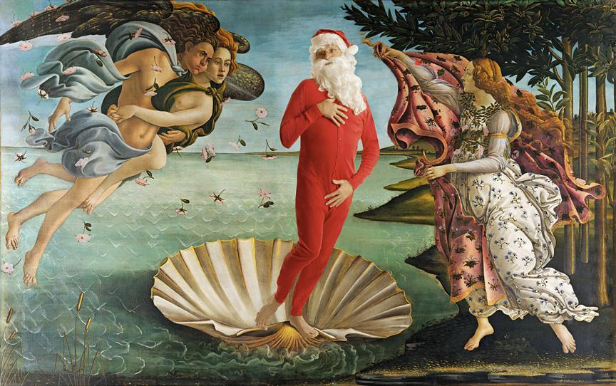 Inspired by: Sandro Botticelli  The Birth of Venus - 1486 Uffizi, Florence
