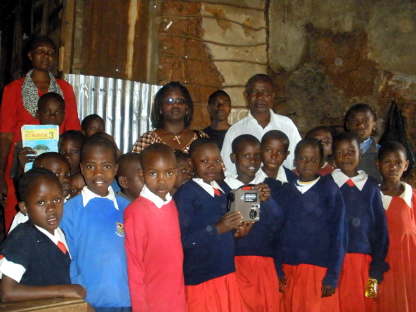 ETOW works with schools in many regions of Africa including; Kenya (pictured), Cameroon, Uganda, Mozambique and Sudan.