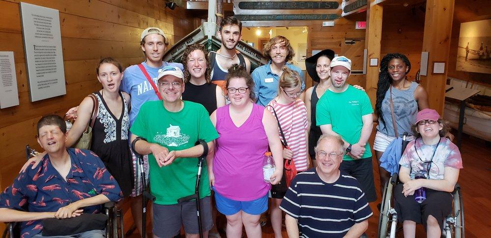 Shipwreck museum crew!