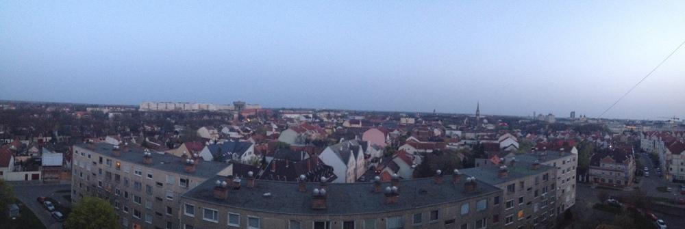 Natali's hometown, Debrecen, Hungary