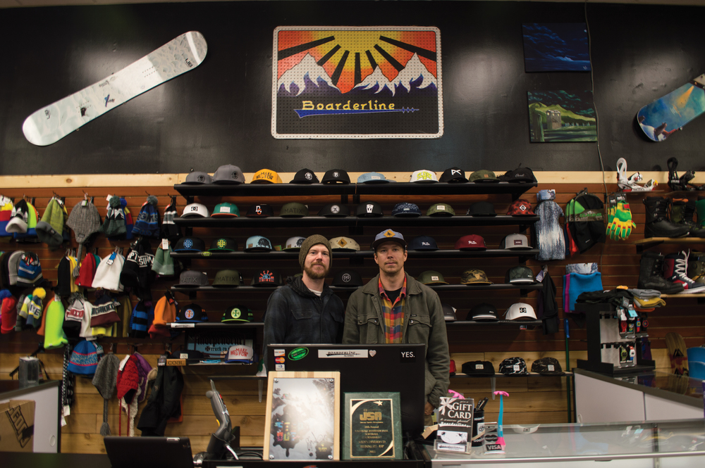 Deez and Jake at Boarderline Legacy in Juneau