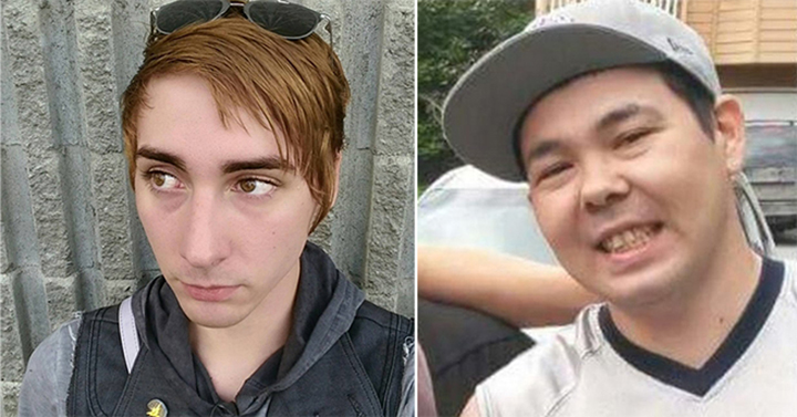 "Bryant ""Brie"" DeHusson (L) Kevin S. Turner (R). Found at Valley of the Moon Park on 8/28/16"