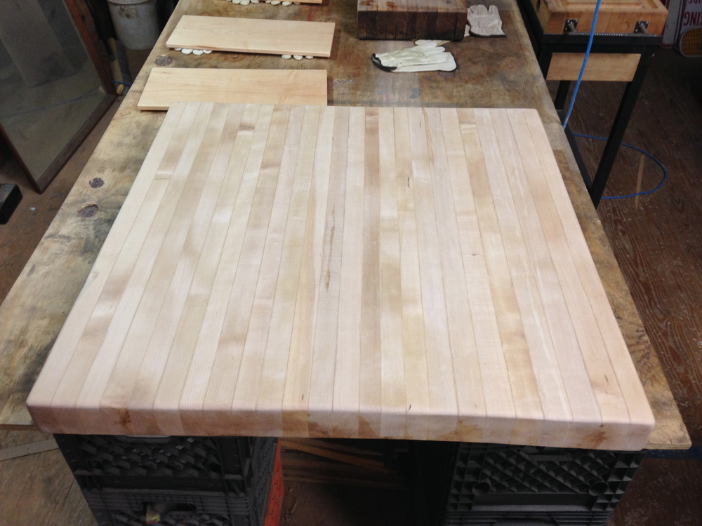 Maple Top Before the Oil