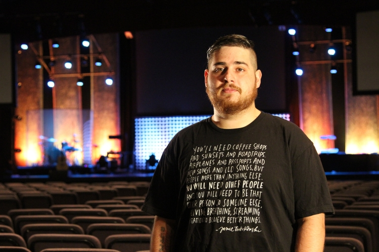 for info on my shirt and the amazing organization TWLOHA click  here . (photo cred  Rachel Horstmann )