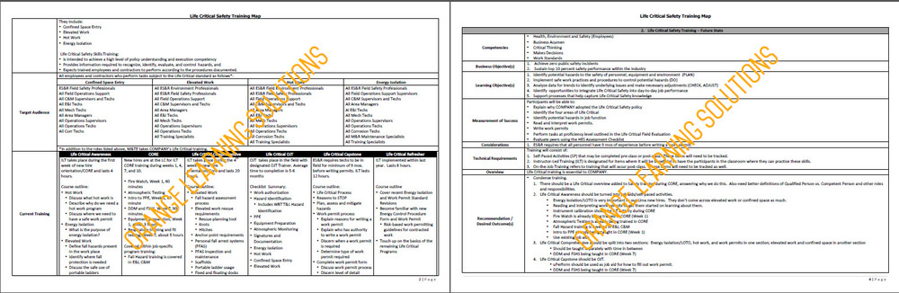 Needs Assessment — Orange Learning Solutions