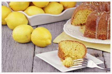 BeeSweet Lemonade Bundt Cake