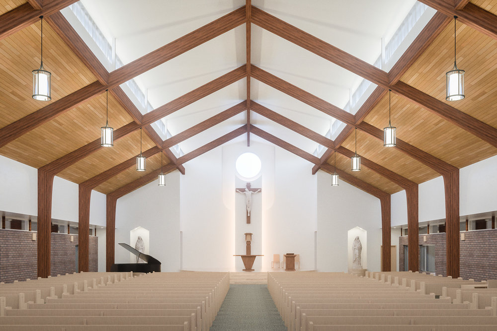 Final interior rendering