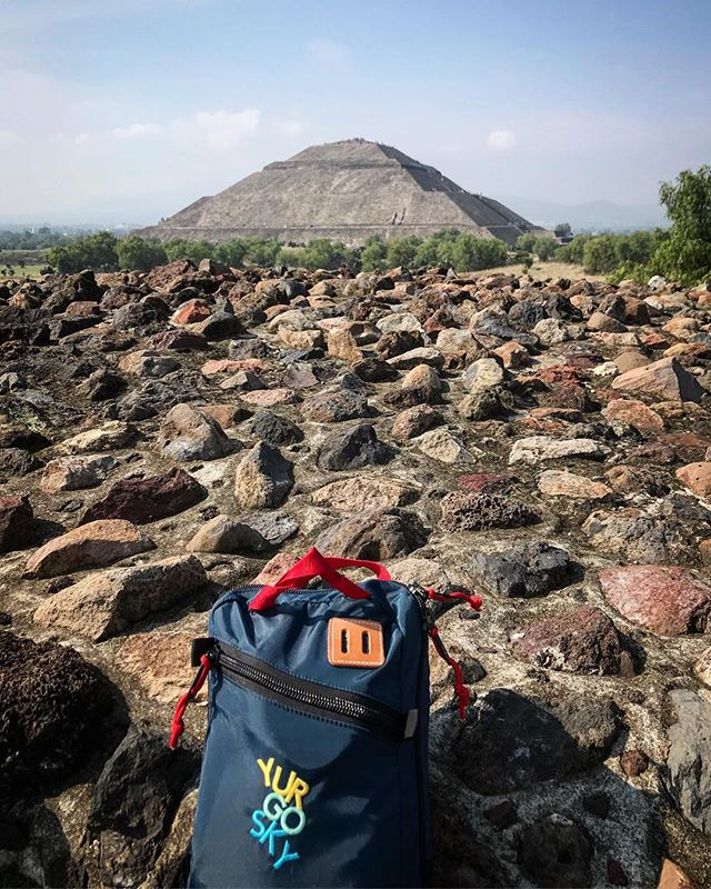 Just outside of Mexico City, Teotihuacan is an ancient Mesoamerican city, with pyramids that were built by hand over a thousand years ago. It is still not known exactly who lived here, what language they spoke or the gods they worshipped. #yurgosky #travel #mexico #history #alwaysexploring #startuplife