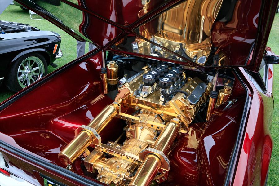 Gold plated (?) Pantera drivetrain