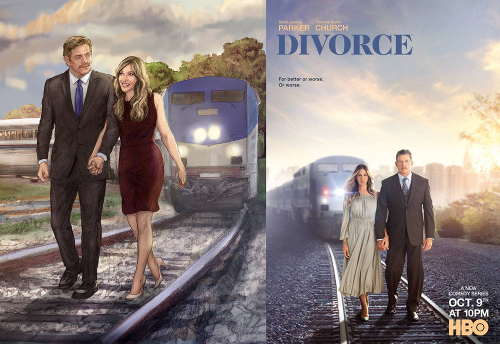 "HBO's ""Divorce"""