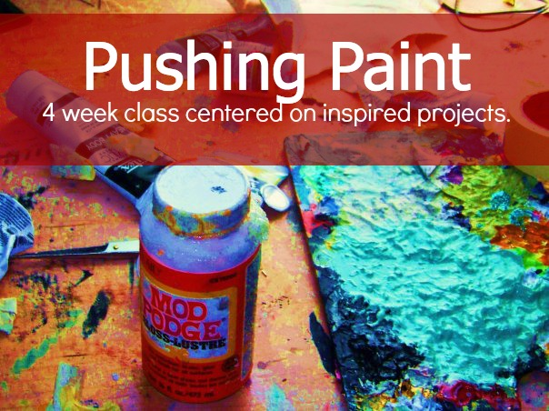 Exploratory Painting for Adults. Maybe you have never painted yet the need to be play with wet colors in concentrated projects calls to you- there is nothing to worry about this class is perfect. Inquire below.