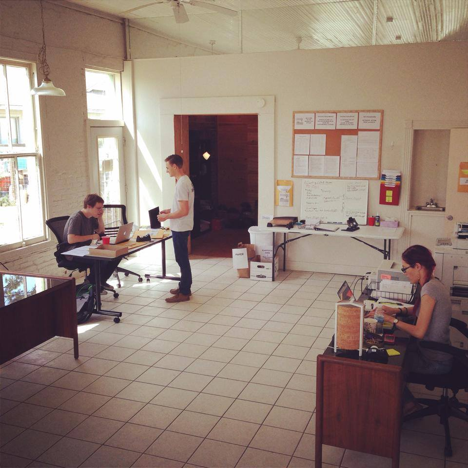 The ACCH production office in Smithville, TX