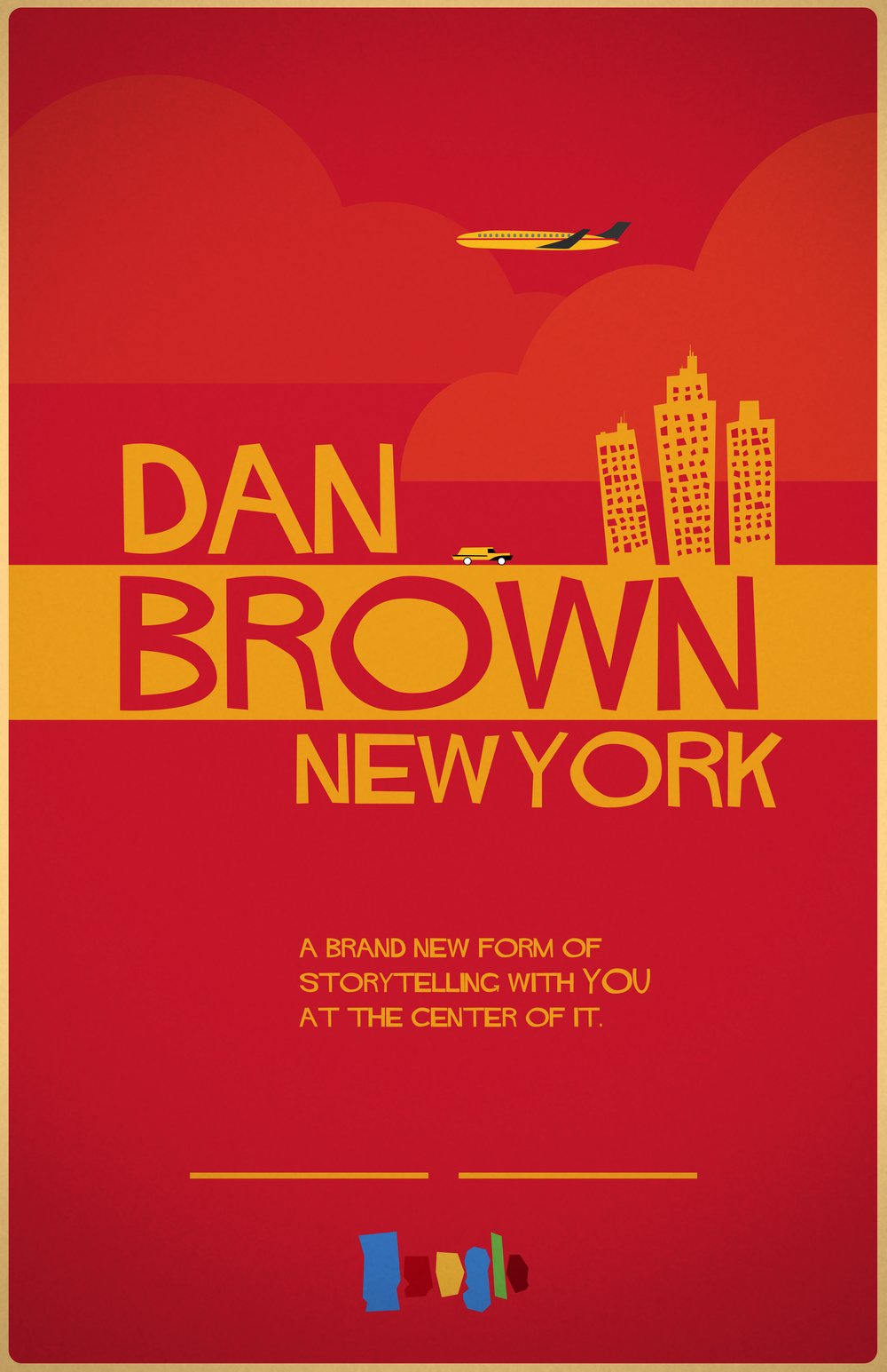 Poster design new york - I Had The Pleasure To Create A Few Poster Designs Book Covers For An Upcoming Google Campaign Featuring Author Dan Brown Dan Brown S New York Is An