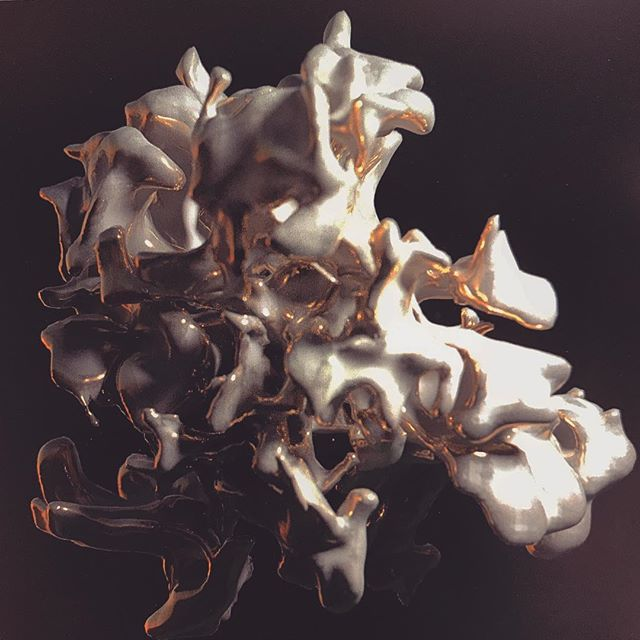 Some random #sidefxhoudini fun. . . . . #sidefx #houdini #cg #3d #redshift #render #digitalart #sculpture #cgi #clownmagic